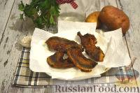 Фото приготовления рецепта: Немецкий картофельный салат с беконом - шаг №6