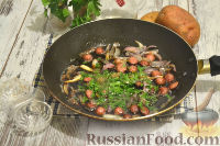Фото приготовления рецепта: Немецкий картофельный салат с беконом - шаг №8