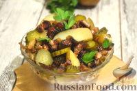 Фото приготовления рецепта: Немецкий картофельный салат с беконом - шаг №10