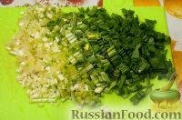 Фото приготовления рецепта: Весенний салат с черемшой - шаг №1