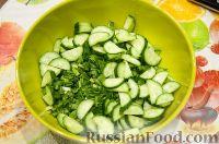 Фото приготовления рецепта: Весенний салат с черемшой - шаг №2