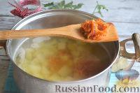 Фото приготовления рецепта: Солянка с колбасой - шаг №7