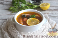 Фото приготовления рецепта: Солянка с колбасой - шаг №11