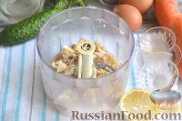 Фото приготовления рецепта: Оливье с креветками, огурцами и авокадо - шаг №8