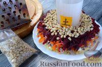 """Фото приготовления рецепта: Салат """"Гранатовый браслет"""" с языком - шаг №6"""