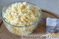 Фото к рецепту: Сытный салат с курицей