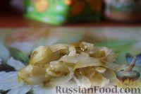 Фото приготовления рецепта: Салат с куриным филе и сельдереем - шаг №5