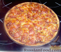 "Фото к рецепту: Пицца ""Для мужа"""