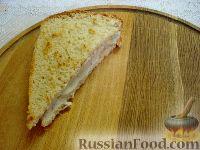 Фото приготовления рецепта: Сэндвичи с форшмаком - шаг №13