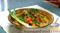 Фото к рецепту: Жаркоп (жаркое по-узбекски)