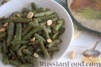 Фото к рецепту: Стручковая фасоль в арахисовом соусе