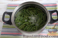 Фото приготовления рецепта: Стручковая фасоль в арахисовом соусе - шаг №2
