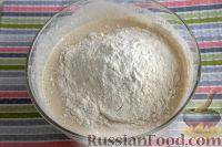 Фото приготовления рецепта: Бездрожжевой хлеб на закваске (в мультиварке) - шаг №6