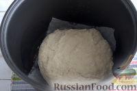 Фото приготовления рецепта: Бездрожжевой хлеб на закваске (в мультиварке) - шаг №8