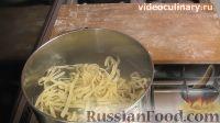 Фото приготовления рецепта: Итальянская домашняя лапша - шаг №9