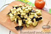 Фото приготовления рецепта: Салат с баклажанами - шаг №2