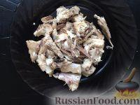 Фото приготовления рецепта: Слоеный салат со скумбрией - шаг №5