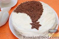 Фото к рецепту: Шоколадный торт «Космос»