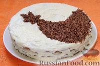 Фото приготовления рецепта: Шоколадный торт «Космос» - шаг №11