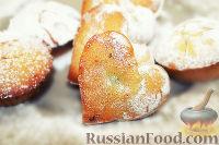 Фото к рецепту: Постные медовые кексы