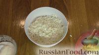 Фото приготовления рецепта: Слоеный салат с крабовыми палочками и яблоком - шаг №3