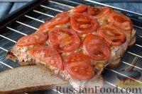 Фото к рецепту: Горбуша, запеченная на хлебе