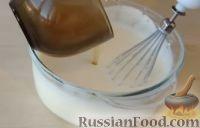 Фото приготовления рецепта: Желе из сметаны с бананами - шаг №3