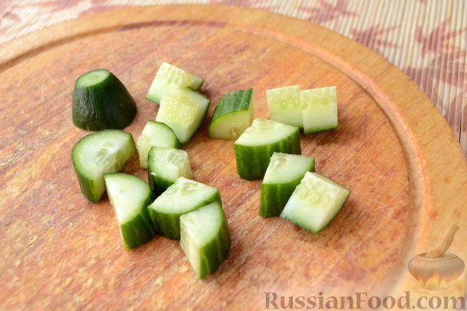 Фото приготовления рецепта: Сосиски в медово-горчичном соусе - шаг №6