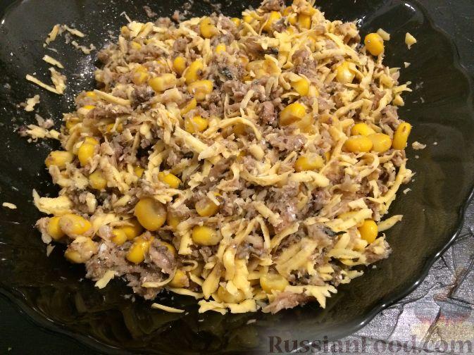 Салаты в тарталетках с креветками рецепты вкусные