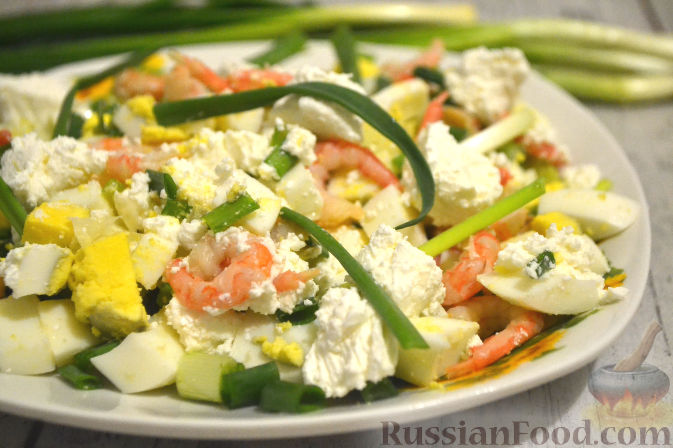 Салат из редиски с огурцом на скорую руку рецепт с фото ...