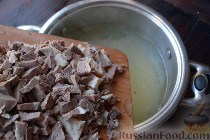 Пошаговое приготовление солянки с сборной мясной