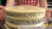"""Фото приготовления рецепта: Торт """"Полосатые штанишки"""" - шаг №8"""