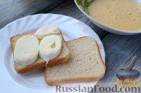 Фото приготовления рецепта: Сэндвичи с моцареллой (Mozzarella in carrozza) - шаг №4