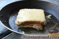 Фото приготовления рецепта: Сэндвичи с моцареллой (Mozzarella in carrozza) - шаг №6