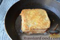 Фото приготовления рецепта: Сэндвичи с моцареллой (Mozzarella in carrozza) - шаг №7