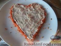 "Фото приготовления рецепта: Салат ""Любовница"" - шаг №9"