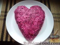 "Фото приготовления рецепта: Салат ""Любовница"" - шаг №12"
