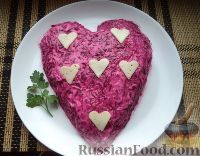 "Фото приготовления рецепта: Салат ""Любовница"" - шаг №13"