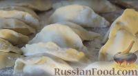 Фото приготовления рецепта: Постные вареники с картошкой - шаг №7