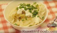 Фото приготовления рецепта: Постные вареники с картошкой - шаг №8