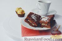 Фото к рецепту: Шоколадные пирожные с бананом