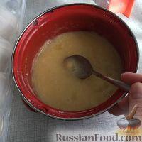Фото приготовления рецепта: Шоколадные пирожные с заварным кремом - шаг №4