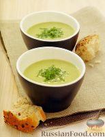 Фото к рецепту: Суп-пюре с зеленым горошком и фасолью