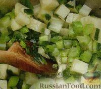 Фото приготовления рецепта: Суп-пюре с зеленым горошком и фасолью - шаг №1