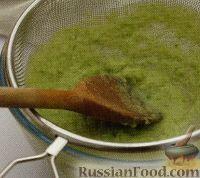 Фото приготовления рецепта: Суп-пюре с зеленым горошком и фасолью - шаг №3