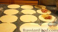 """Фото приготовления рецепта: Пирожки """"Избушка"""" - шаг №7"""
