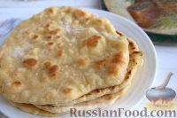 Фото к рецепту: Лепешки на кефире (на сковороде)