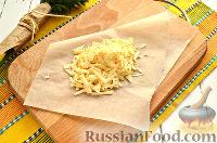 Фото приготовления рецепта: Сосиски, запеченные с сыром - шаг №4