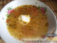 Фото приготовления рецепта: Щи из квашеной капусты - шаг №12