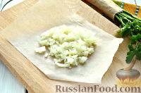 Фото приготовления рецепта: Салат из печени трески и яиц - шаг №3